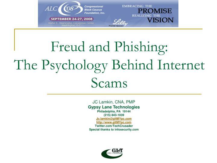 Freud and Phishing: