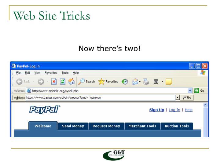Web Site Tricks