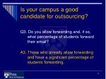 is your campus a good candidate for outsourcing2