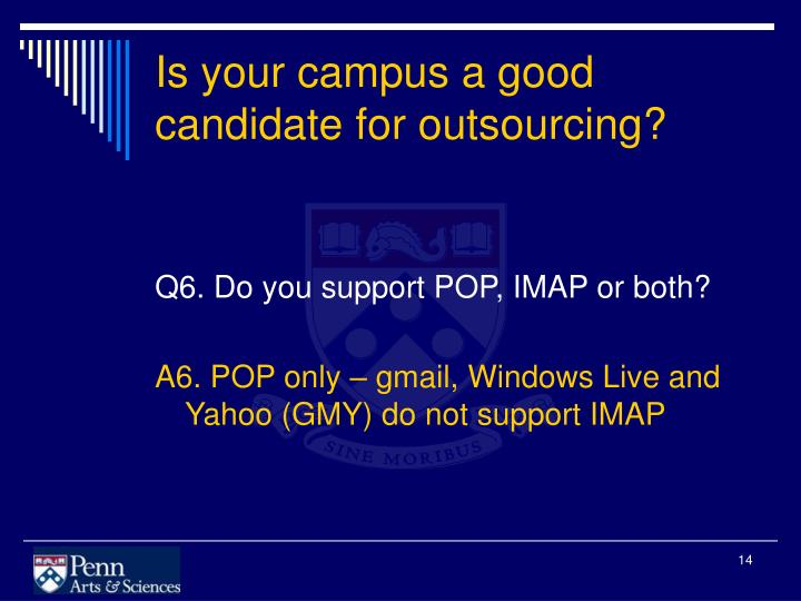 Is your campus a good candidate for outsourcing?