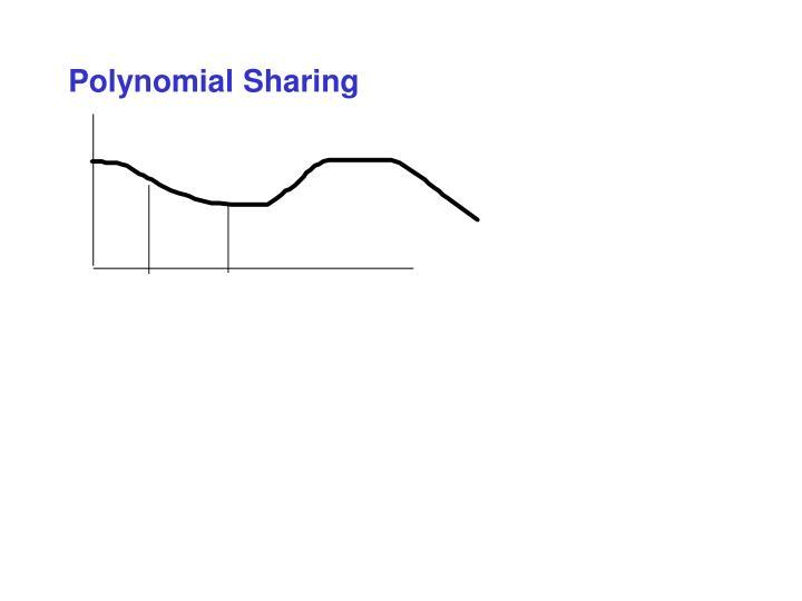 Polynomial Sharing