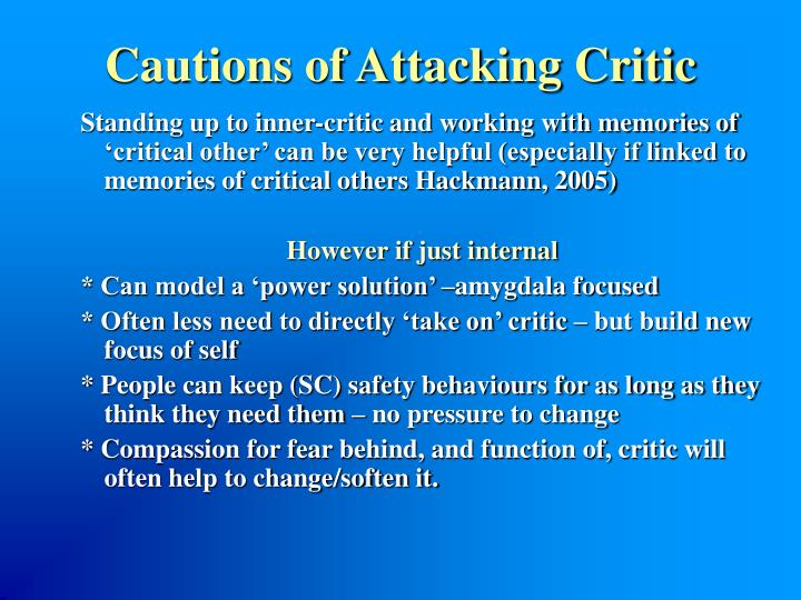 Cautions of Attacking Critic