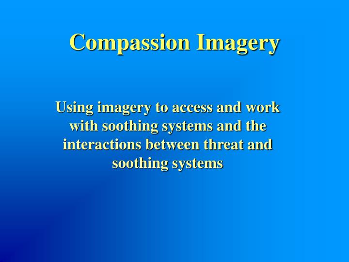 Compassion Imagery