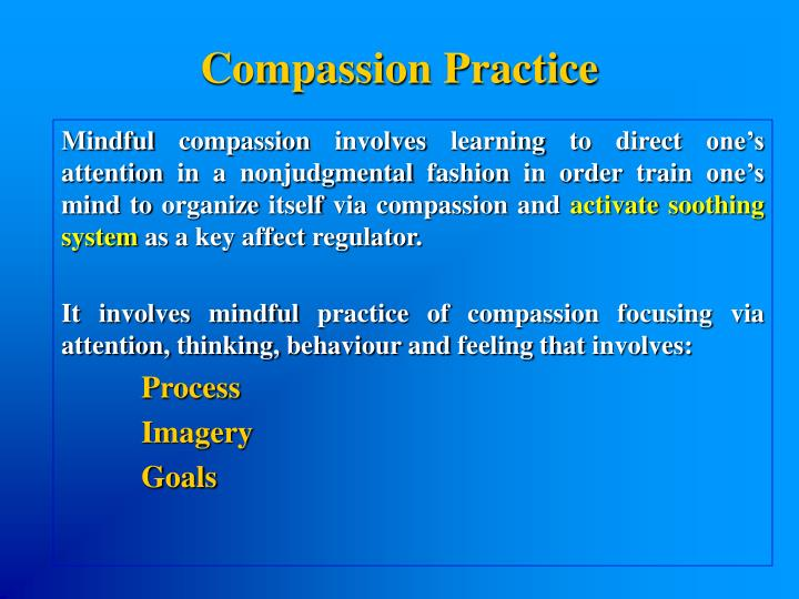 Compassion Practice