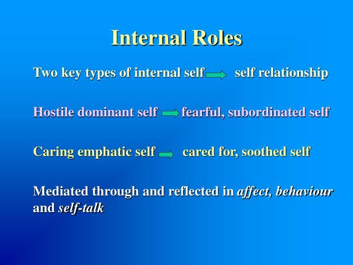 Internal Roles