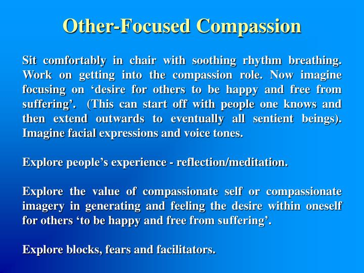 Other-Focused Compassion