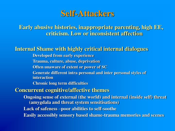 Self-Attackers