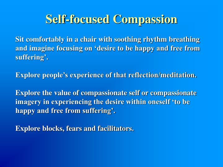 Self-focused Compassion