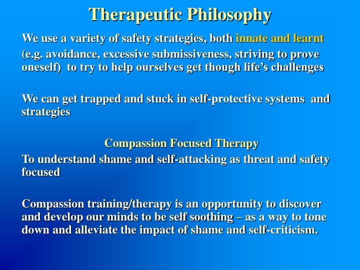 Therapeutic Philosophy