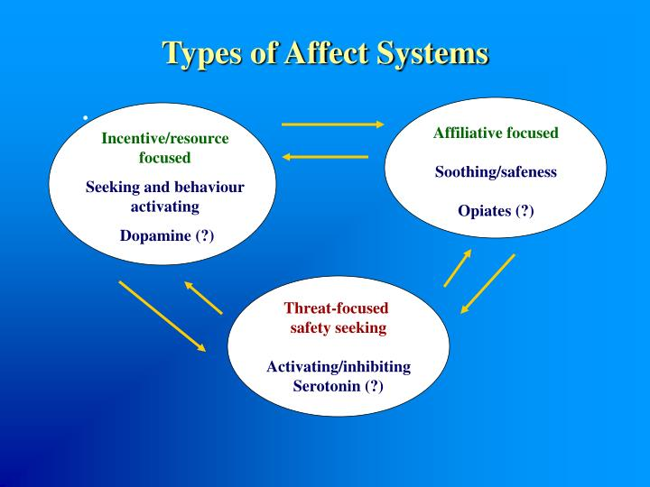 Types of Affect Systems