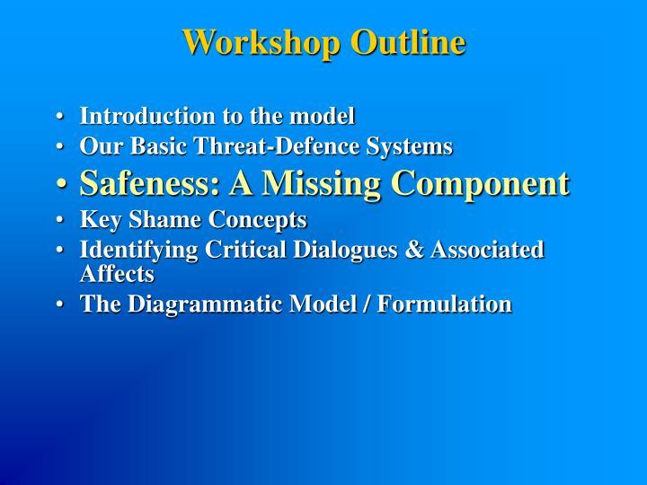 Workshop Outline