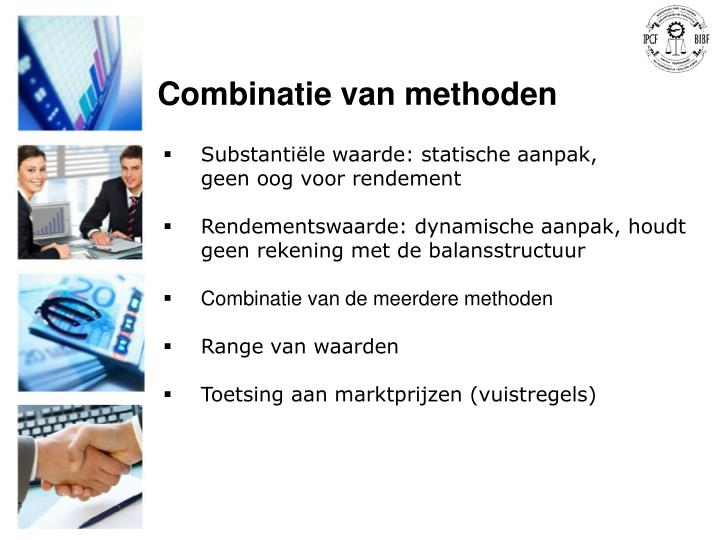 Combinatie van methoden