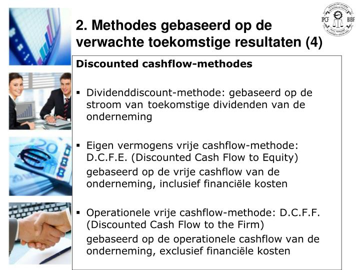 Discounted cashflow-methodes