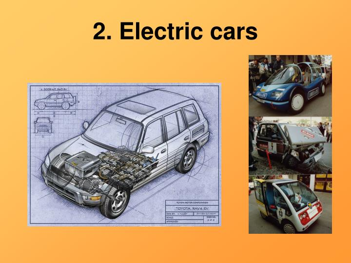 2. Electric cars