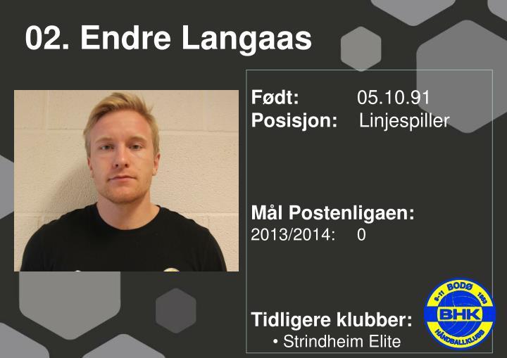 02. Endre Langaas