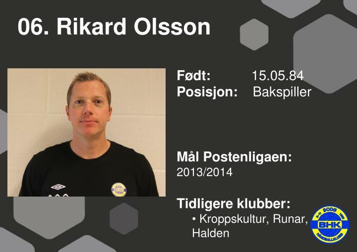 06. Rikard Olsson