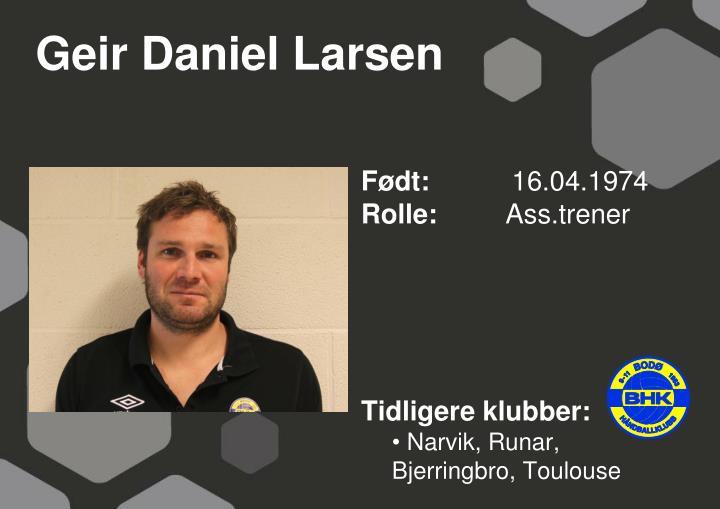 Geir Daniel Larsen
