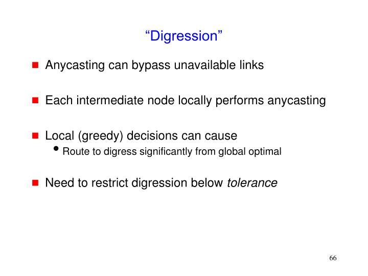 """Digression"""