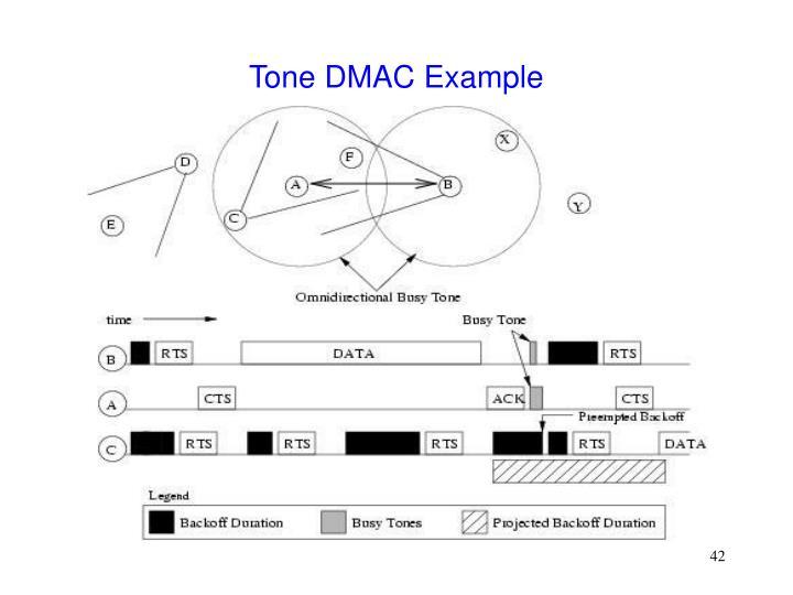 Tone DMAC Example