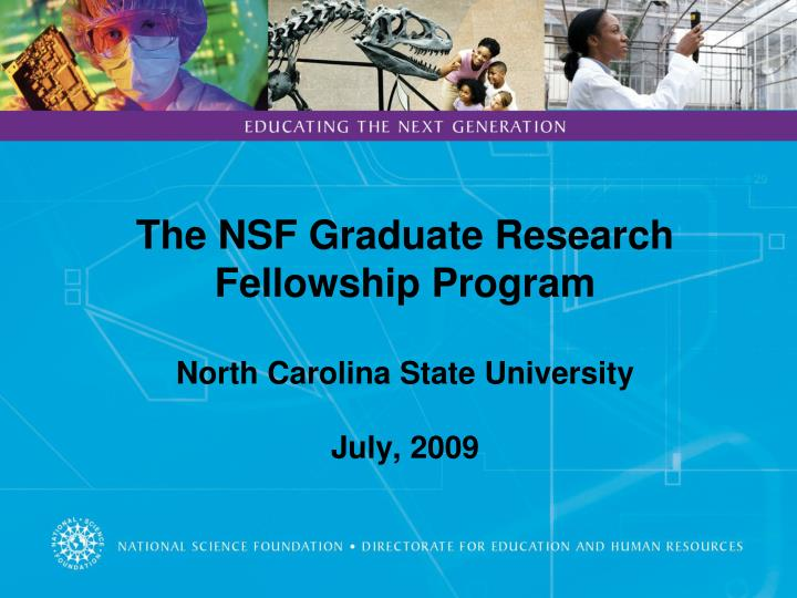 nsf fellowship essay questions
