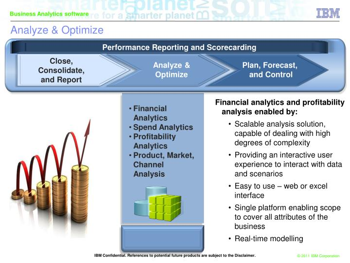 Financial analytics and profitability analysis enabled by: