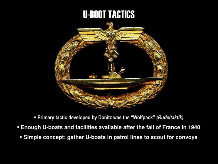 U-BOOT TACTICS