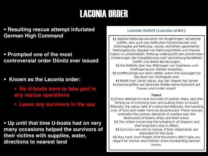 LACONIA ORDER