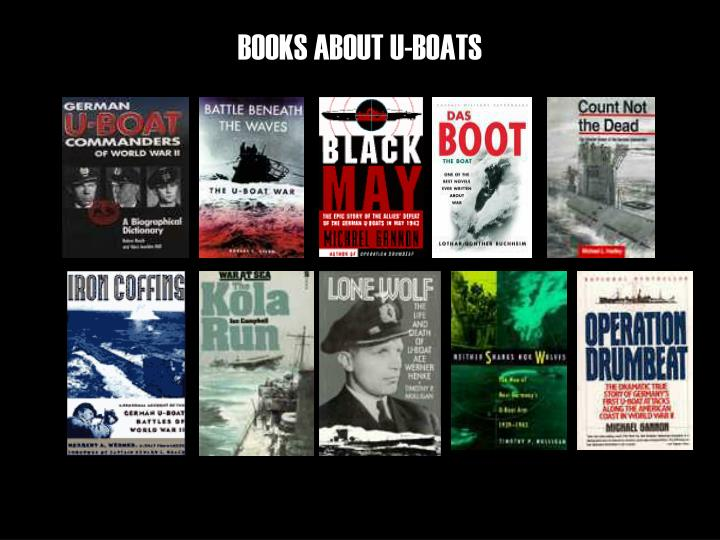 BOOKS ABOUT U-BOATS