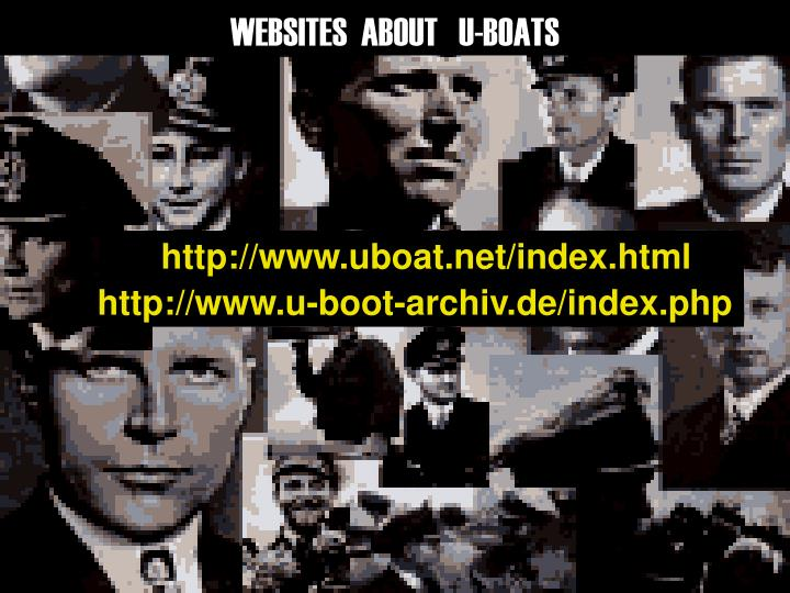 WEBSITES  ABOUT   U-BOATS