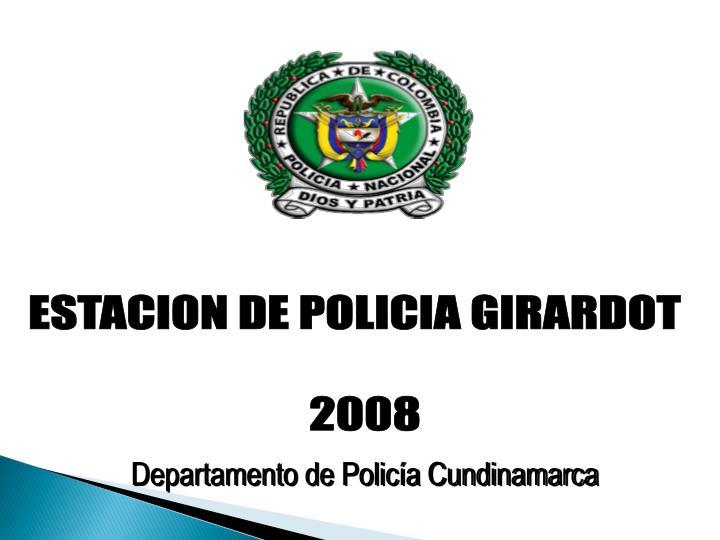 Ppt departamento de polic a cundinamarca powerpoint for Oficina de policia