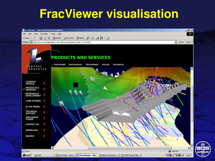 FracViewer visualisation