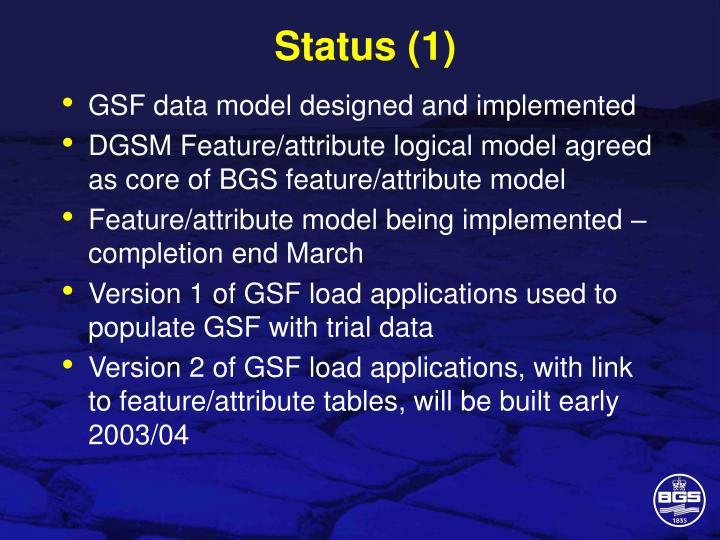 Status (1)