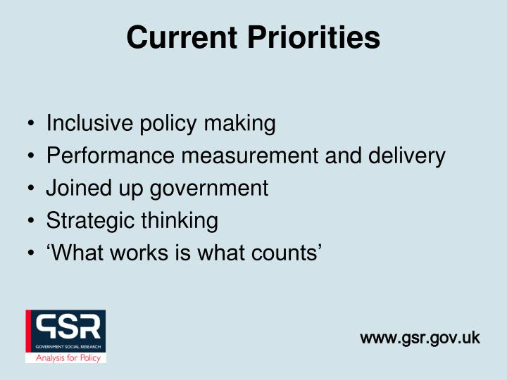 Inclusive policy making