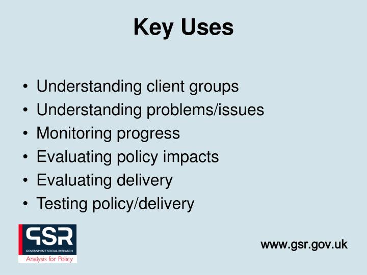 Understanding client groups