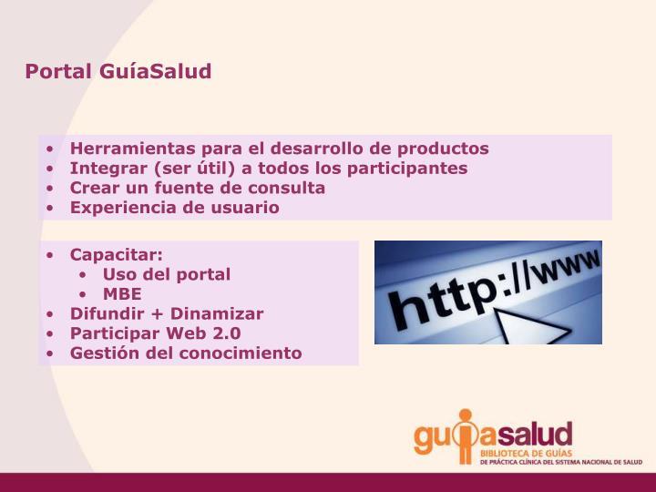 Portal GuíaSalud