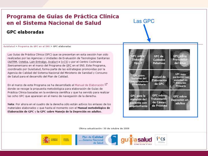 Las GPC