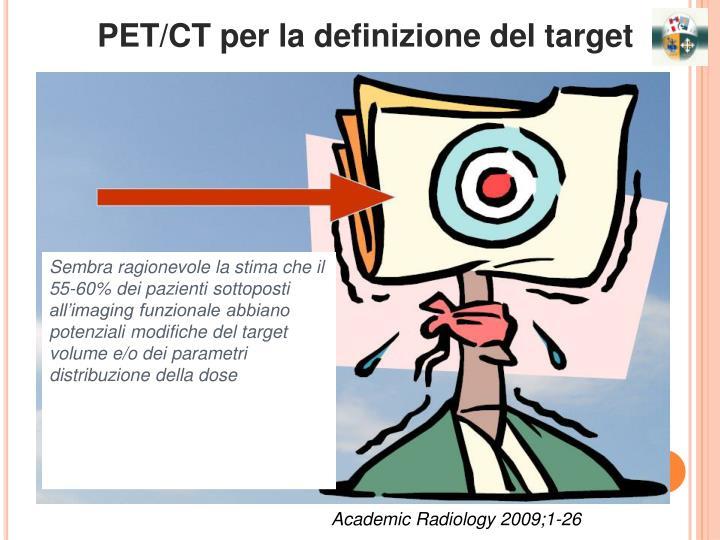 PET/CT per la definizione del target