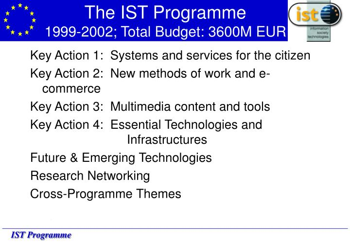 The IST Programme