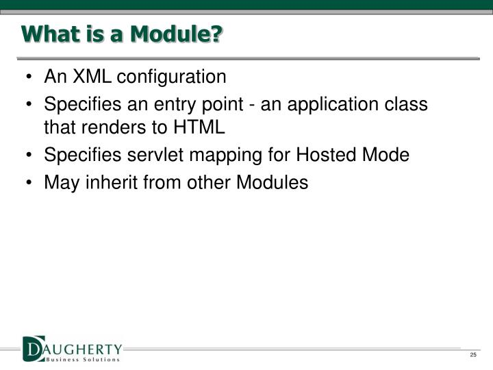 What is a Module?