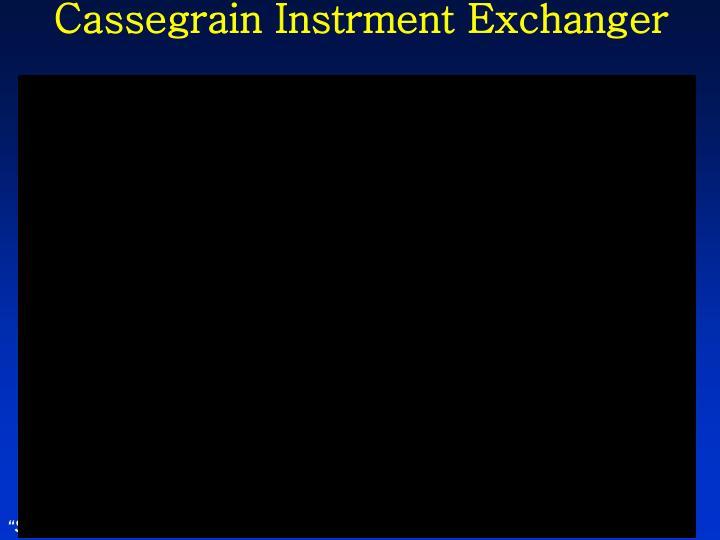 Cassegrain Instrment Exchanger