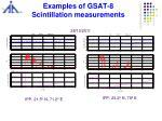examples of gsat 8 scintillation measurements