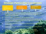 strategic partnership coordination