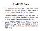 abell 370 data