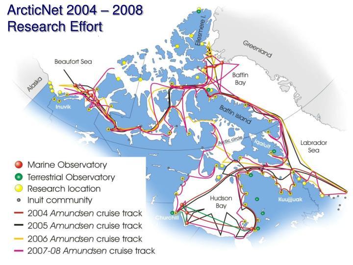 ArcticNet 2004 – 2008