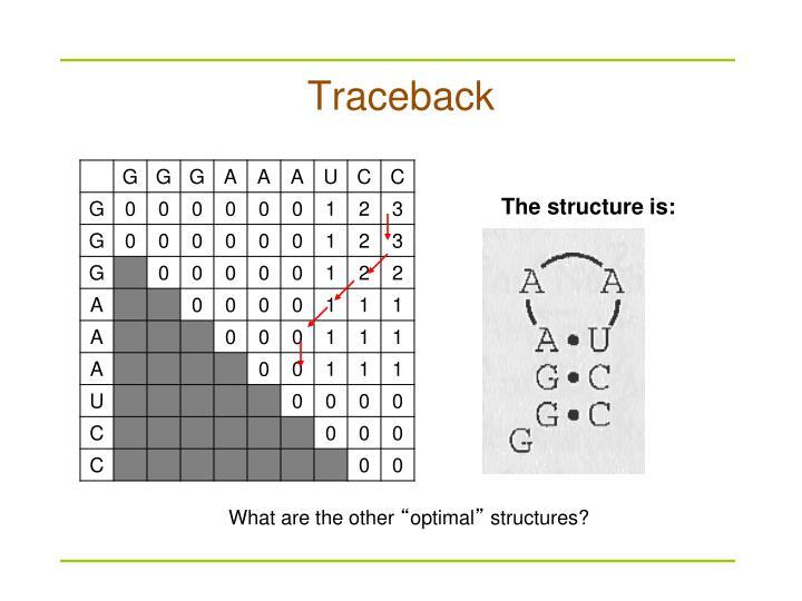 Traceback