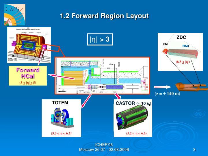 1.2 Forward Region Layout