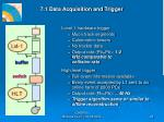 7 1 data acquisition and trigger
