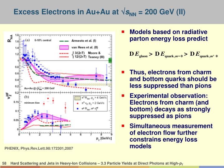 Models based on radiative parton energy loss predict