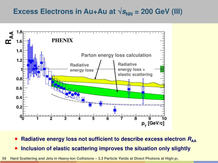 Excess Electrons in Au+Au at