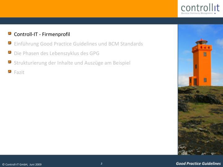 Controll-IT - Firmenprofil